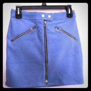 brand new Rag & Bone corduroy miniskirt